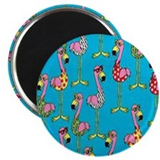sharp-flamingos- Magnet