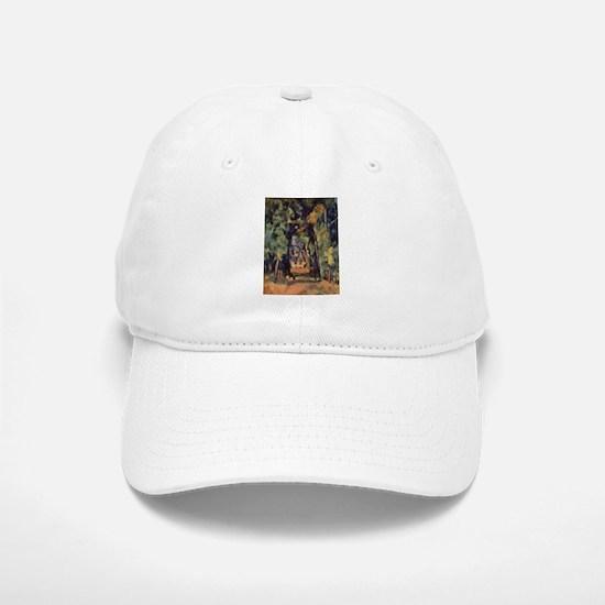 Allee du Bois Bourillon Chantilly - Paul Cezanne -