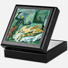 Afternoon in Naples - Paul Cezanne - c1876 Keepsak
