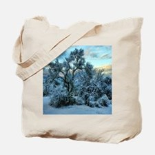 mesquite tree snow Tote Bag