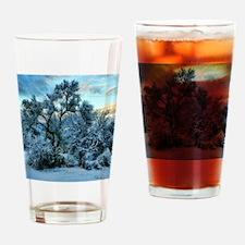 mesquite tree snow Drinking Glass