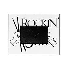 black, Rocking the Sticks, unfortuna Picture Frame