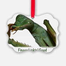 Praying Mantis, Finger Lickin Goo Ornament
