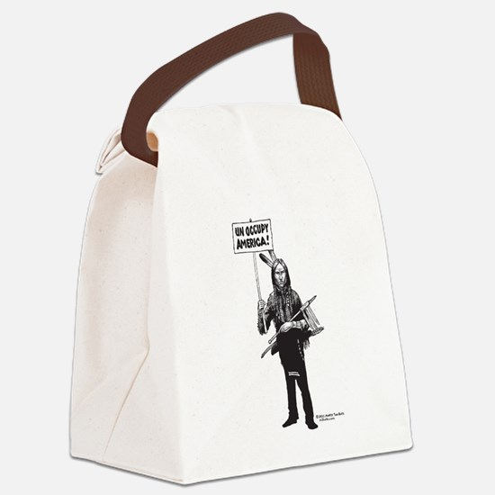 Unoccupy America Canvas Lunch Bag