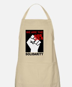 We are the 99 percent solidarity Apron
