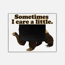 Honey Badger Sometimes I Do Care A L Picture Frame