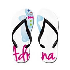 Adriana-the-snow-woman Flip Flops