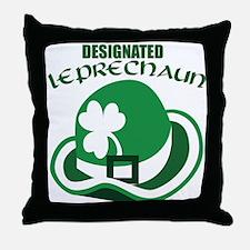 Designated Leprechaun Throw Pillow