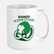Designated Leprechaun Mug