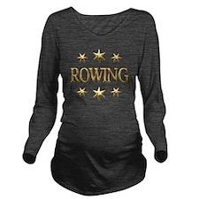 ROWING Long Sleeve Maternity T-Shirt