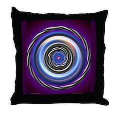 Eye Fool Optical Illusion Throw Pillow