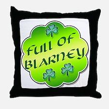 Full of Blarney Throw Pillow