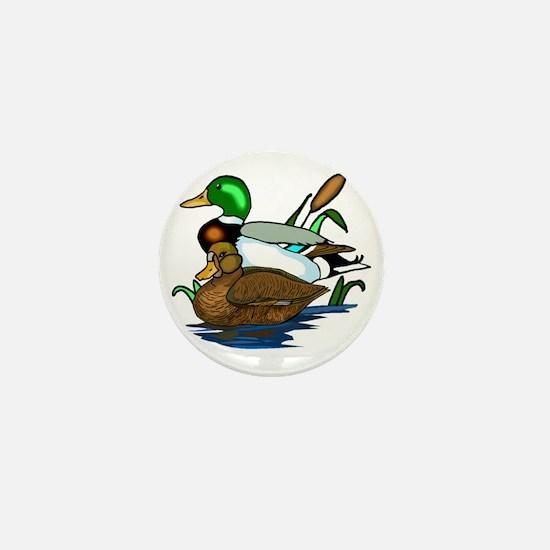 mallard ducks Mini Button