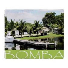 Bomba Villave, Belize Throw Blanket