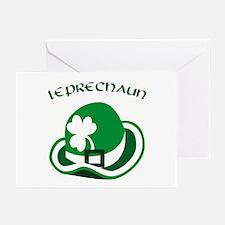 Leprechaun Greeting Cards (Pk of 10)