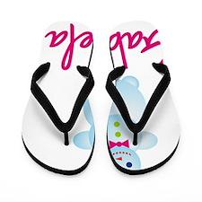 Gabriela-the-snow-woman Flip Flops