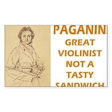paganini-sandwich Decal