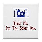 Trust me Tile Coaster