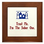 Trust me Framed Tile