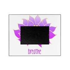 breathe lotus Picture Frame