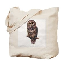 BarredOwl Tote Bag