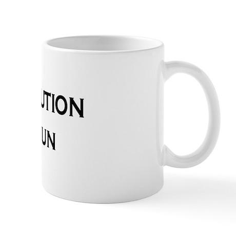 Revolution Text Mug