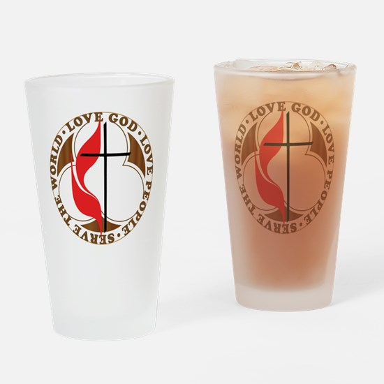logosolid-print Drinking Glass