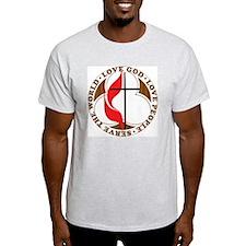 logosolid-print T-Shirt