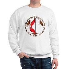 logosolid-print Sweatshirt