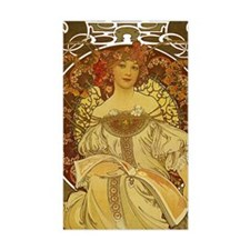 Dreams by Alphonse Mucha Decal
