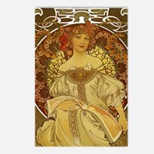 Dreams by Alphonse Mucha Postcards (Package of 8)