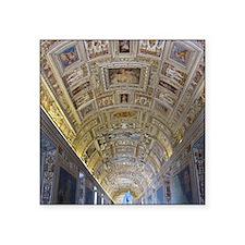 """Vatican City Square Sticker 3"""" x 3"""""""