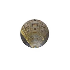 Vatican City Mini Button