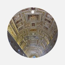 Vatican City Round Ornament