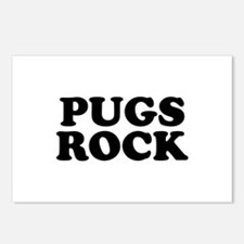 Pugs Rock Postcards (Package of 8)