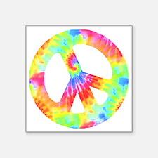 "peace_td Square Sticker 3"" x 3"""