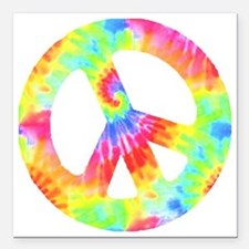 "peace_td Square Car Magnet 3"" x 3"""