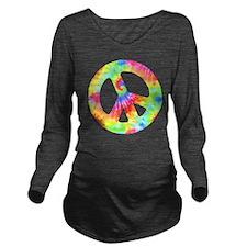 peace_td Long Sleeve Maternity T-Shirt