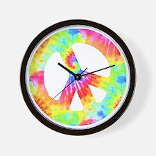 peace_td Wall Clock