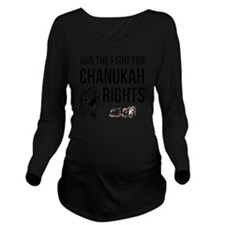 CR Long Sleeve Maternity T-Shirt