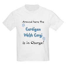 Welsh Corgi Charge Kids T-Shirt