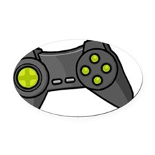 controler_pnts Oval Car Magnet