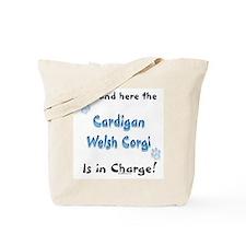 Welsh Corgi Charge Tote Bag