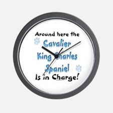 Cavalier Charge Wall Clock