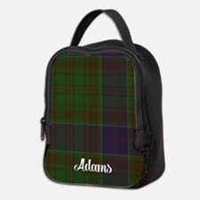 Adams Tartan Neoprene Lunch Bag