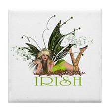 Irish Fairy Tile Coaster
