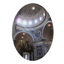 St. Peters Cathedral Oval Ornament