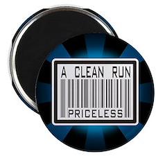A Clean Run Priceless Magnet