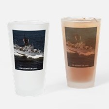 davidson de framed panel print Drinking Glass