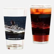 davidson ff framed panel print Drinking Glass